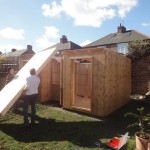Assembly of garden room