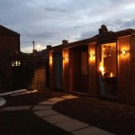Add electric and water to your shed, studio, garden room