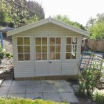 apex roof summerhouse