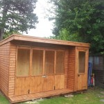 summerhouse bi-fold doors