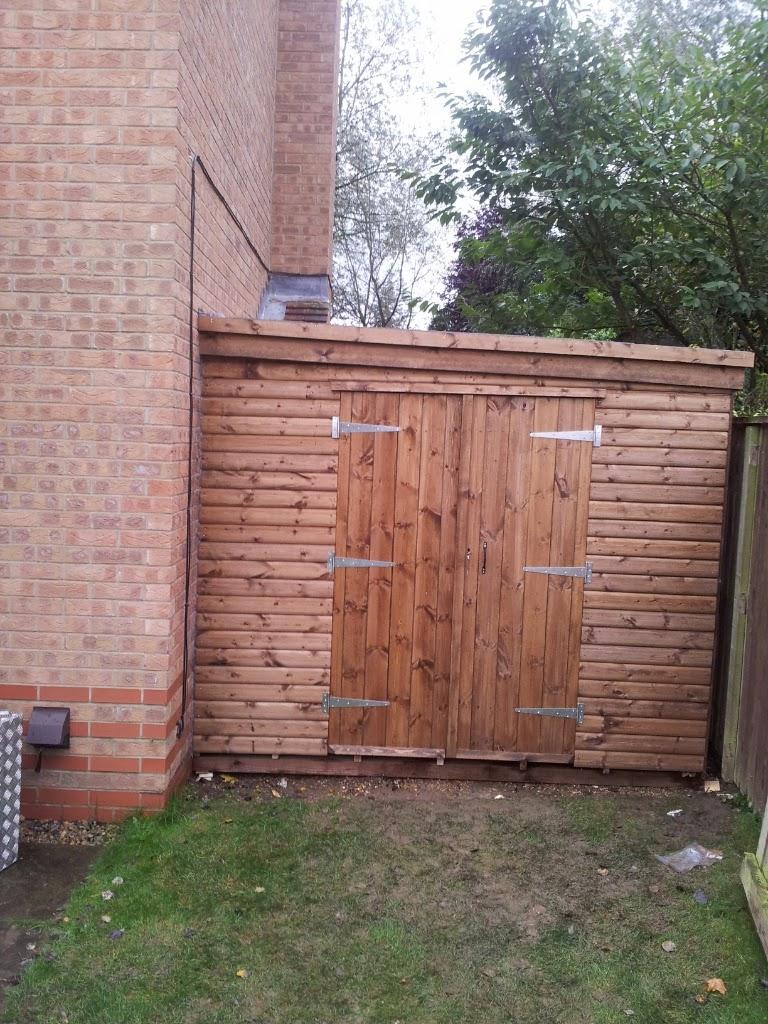 Custom fit shed