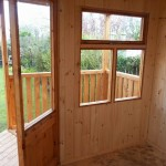 t&g lined summerhouse